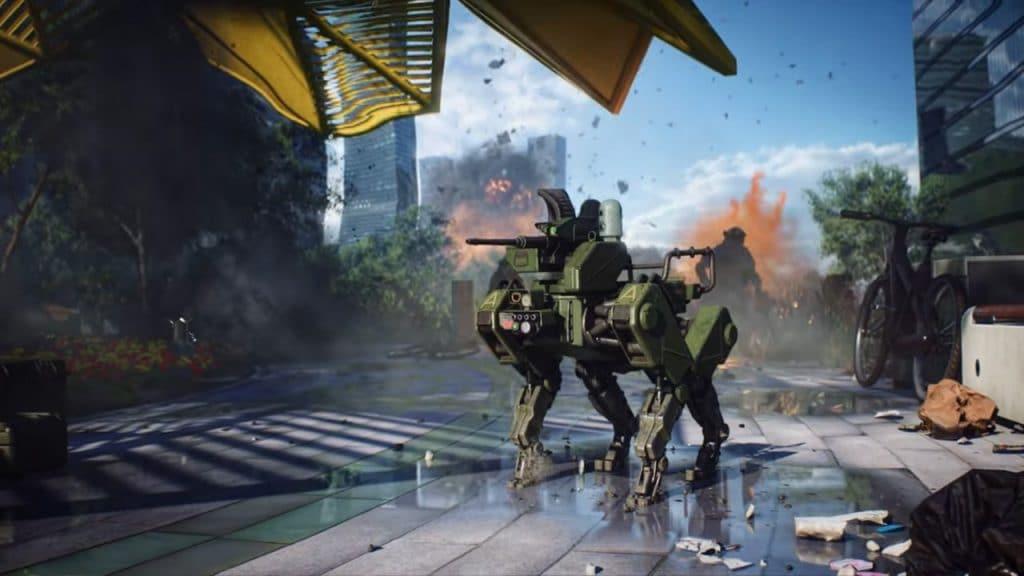 battlefield 2042 beta robot