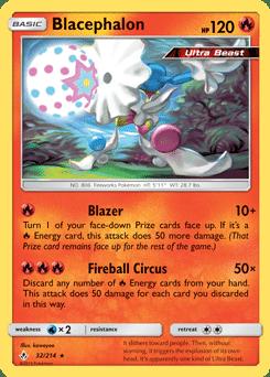 blacephalone Fireball Circus