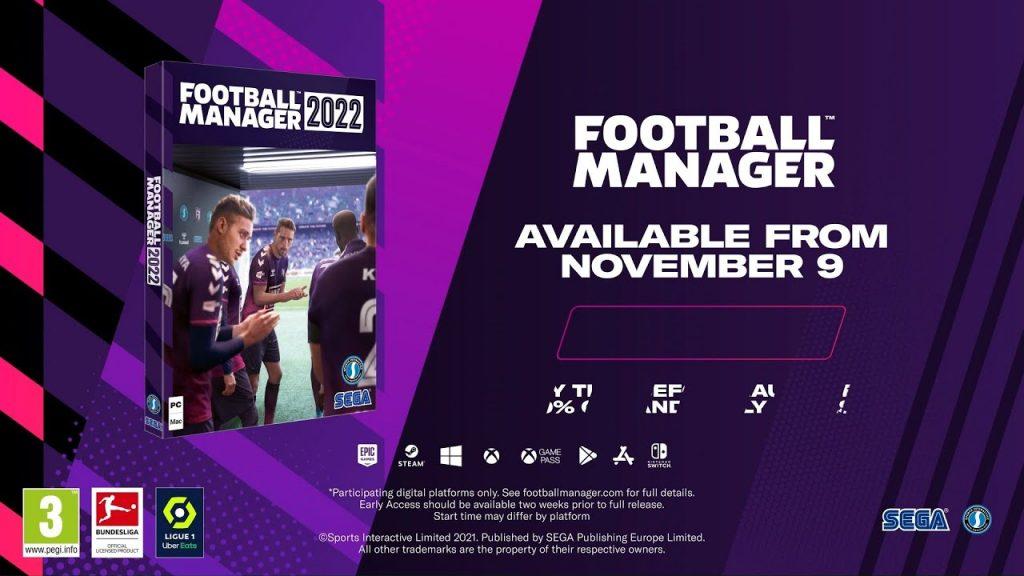 football manager 2022 uscita