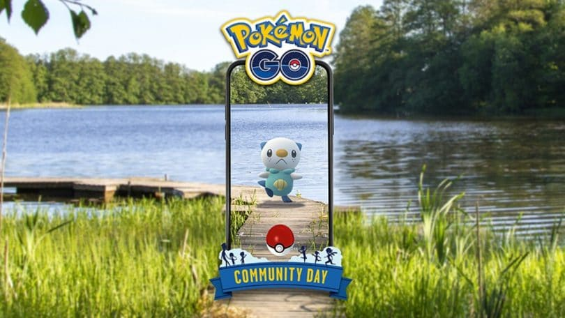 pokémon go community day oshawott protagonista